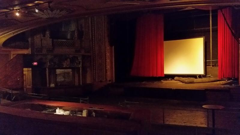 Interior of the Paramount Theater in 2018