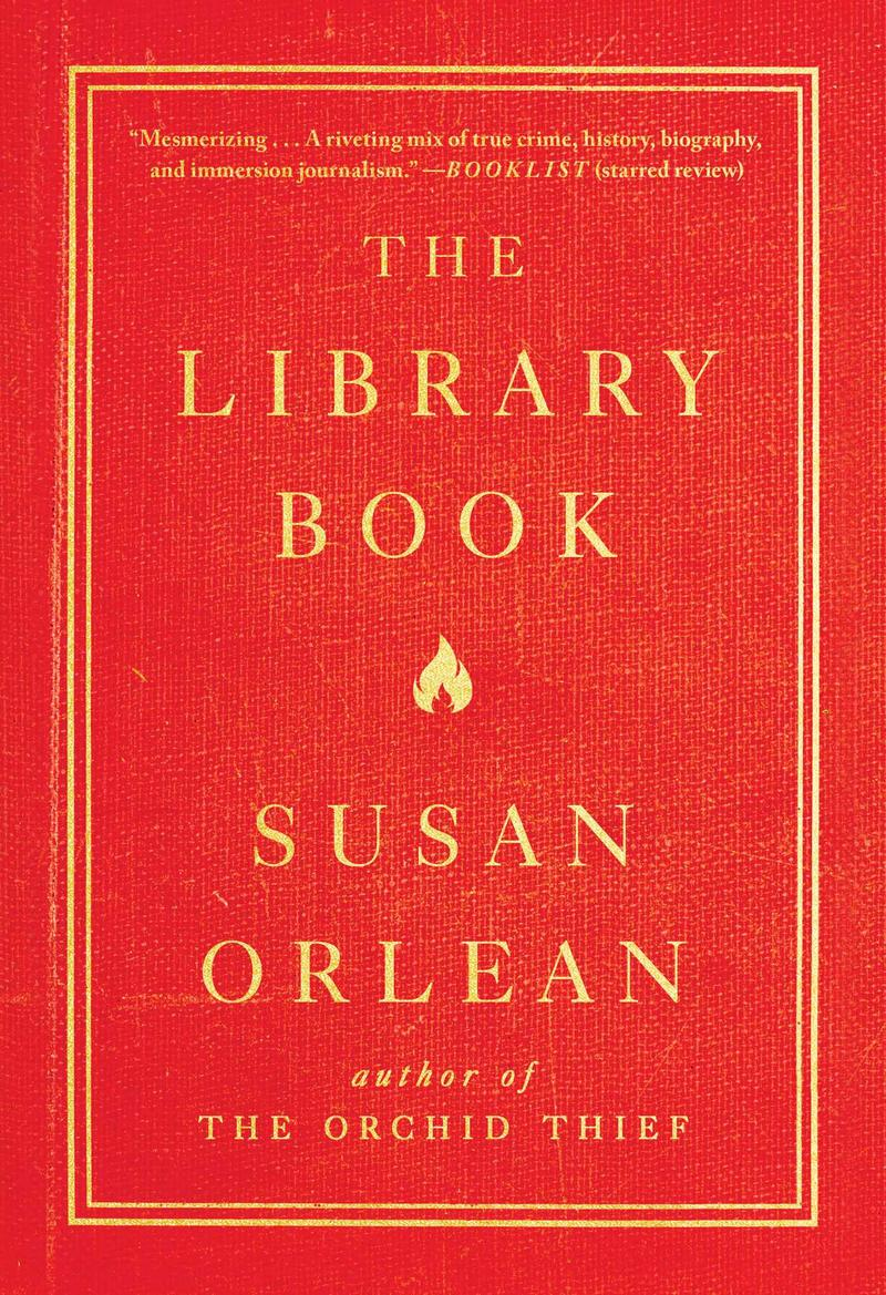 Book cover - The Library Book