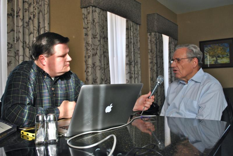 Joe Donahue speaks with Bob Woodward