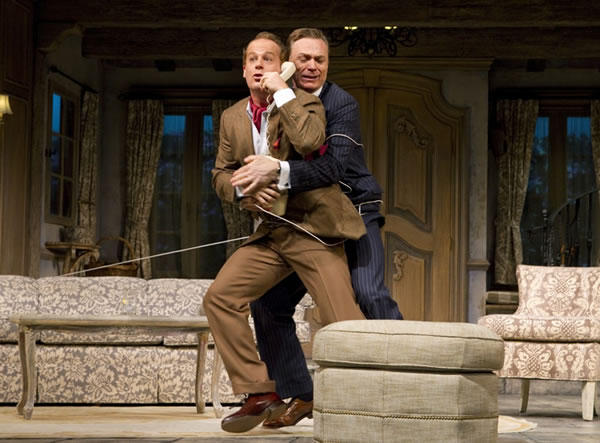 "Adam James and Ben Daniels in ""Don't Dress for Dinner"""
