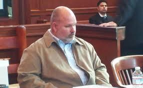 Jeffrey Asher shown in Chicopee District Court.