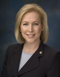 NY US Senator Kirsten Gillibrand