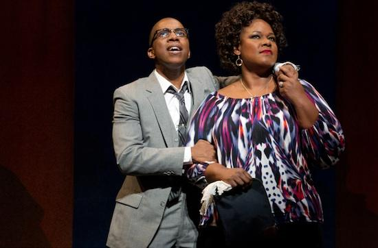 Leslie Odom Jr. and Kecia Lewis-Evans