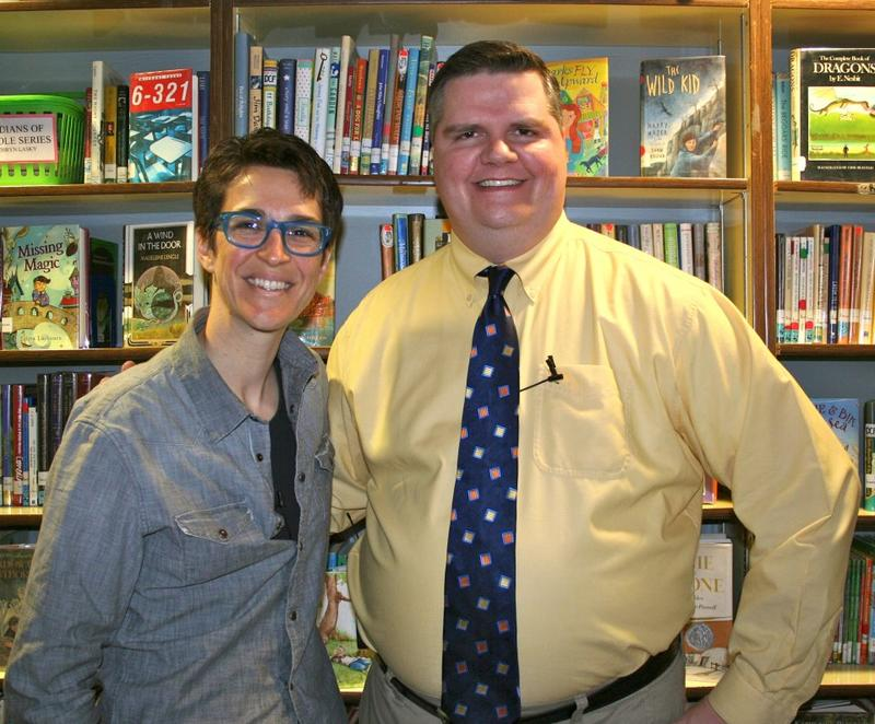 Rachel Maddow and Joe Donahue