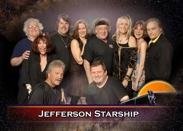 Jefferson Starship, with founder Paul Kantner