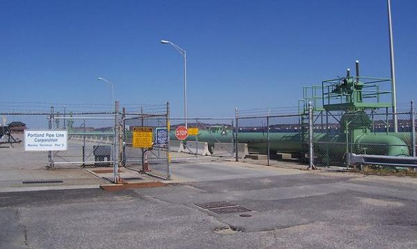 Portland Pipeline terminal in Maine