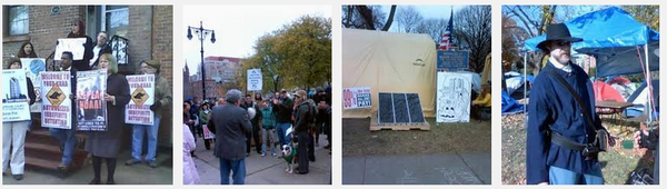 Scenes from Occupy Albany