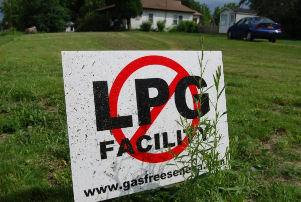 Natural gas storage has split some communities in Upstate New York.