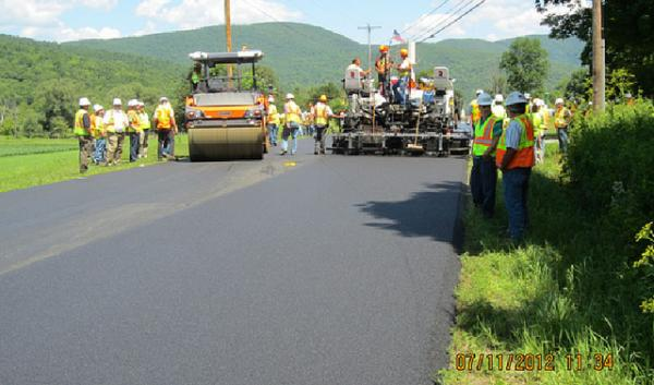 Federal Highway Administration Field Visit to US 4A-2, VT