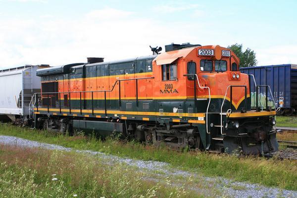 Photo of a Montreal, Maine & Atlantic Railway locomotive