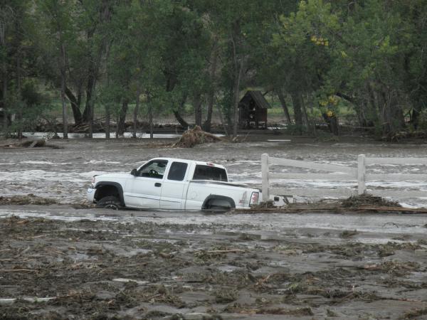 Flooding, Longmont, Colorado September 13, 2013