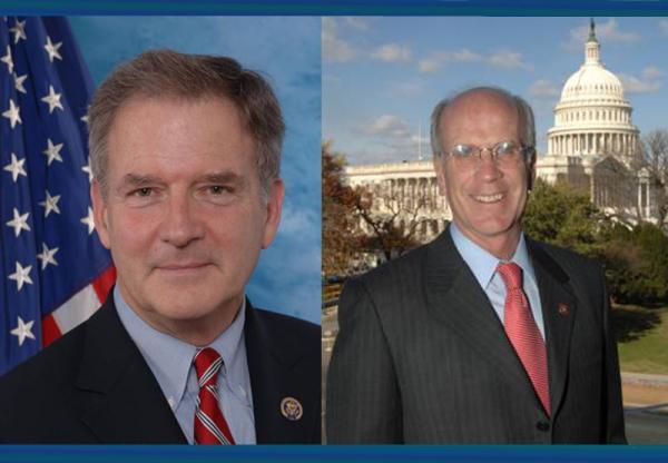 Congressman Bill Owens (left), Congressman Peter Welch (right)
