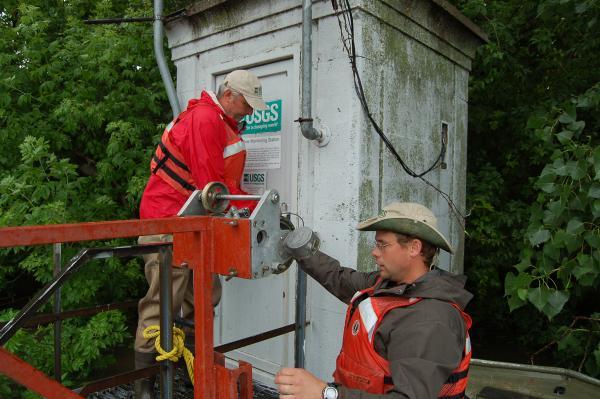 Streamgauge maintenance