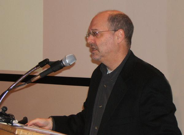 William Arkin speaking at ACLU of Vermont conference 10/30/13