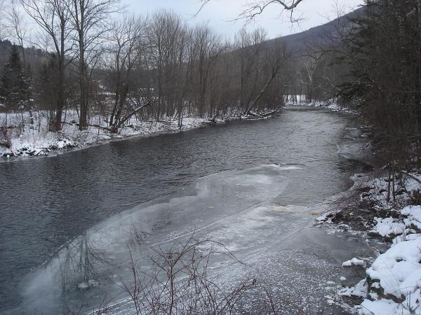Battenkill River in Arlington VT