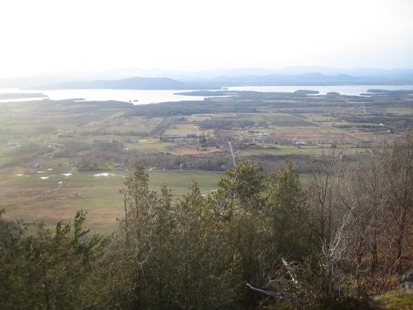 View to the west from Mt. Philo State Park