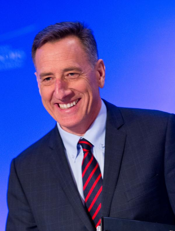 Vermont Governor Peter Shumlin, National Governor's Association vice chair of the Health and Human Services Committee