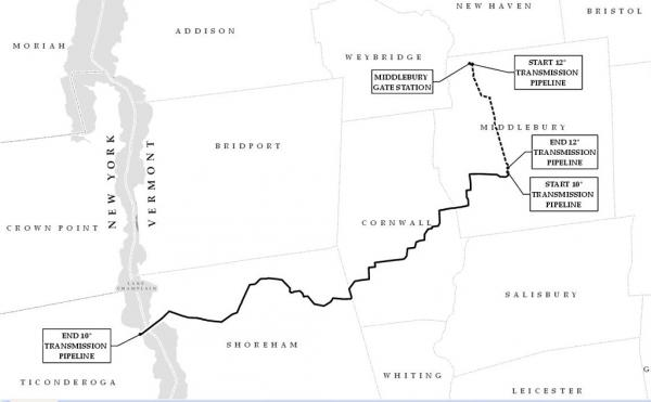 Proposed Phase Two pipeline route