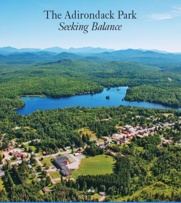Adirondack Park Regional Assessment 2014 cover. Photo by Carl Heilman II