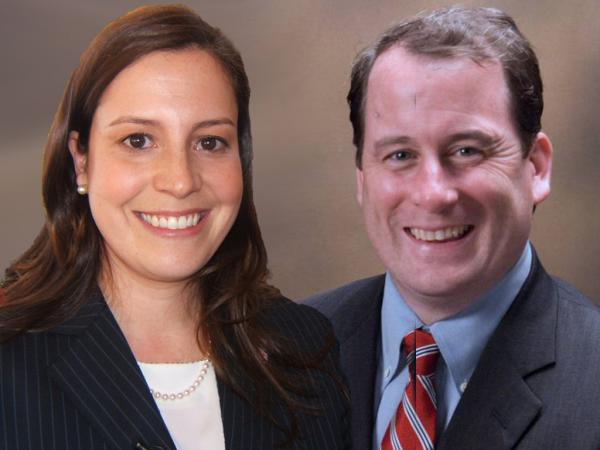 Elise Stefanik (left) and Matt Doheny