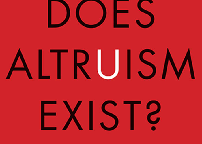 altruism is important in society Altruism has important evolutionary benefits, say nicholas d kristof and   evidence shows how critical a role women can play in society.