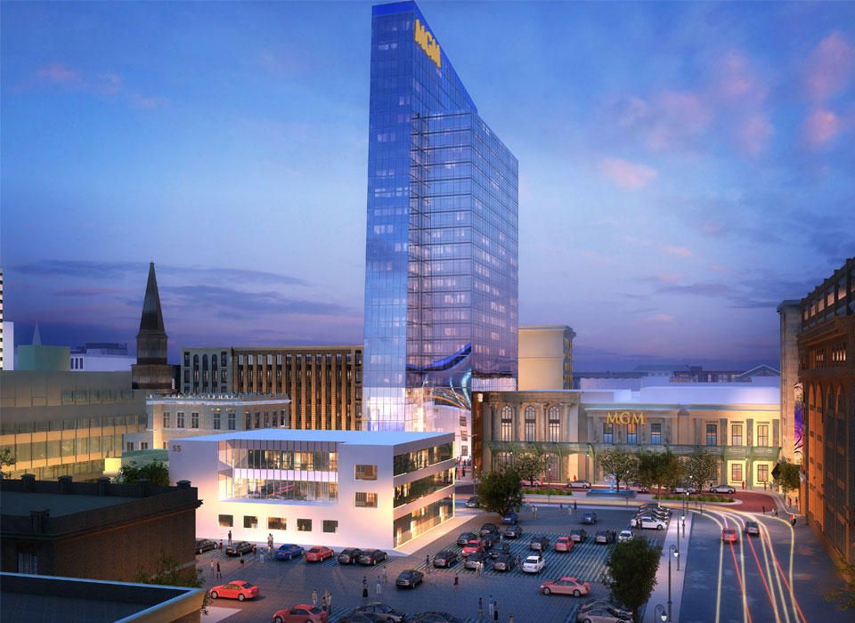 Mgm Outlines Construction Timetable For Springfield Casino