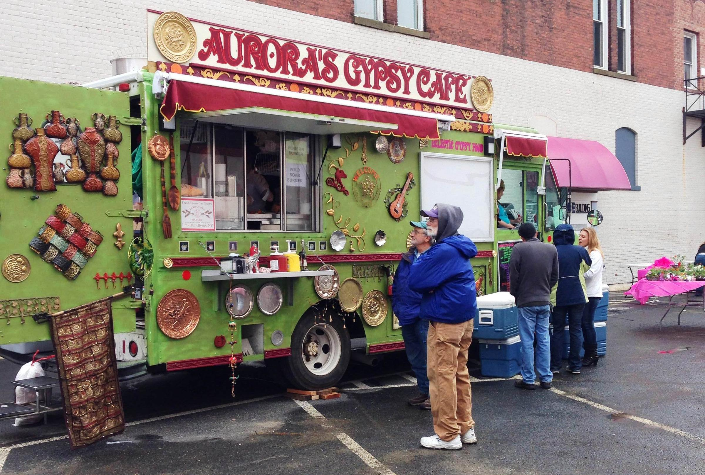 Pittsfield Food Truck Rodeo Offers Unique Sights, Sounds ...