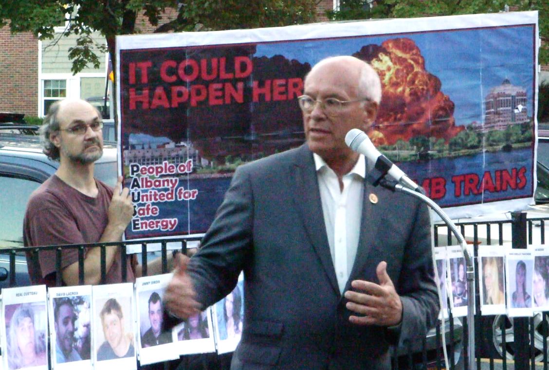 Congressman Paul Tonko in Albany Justin Mikulka