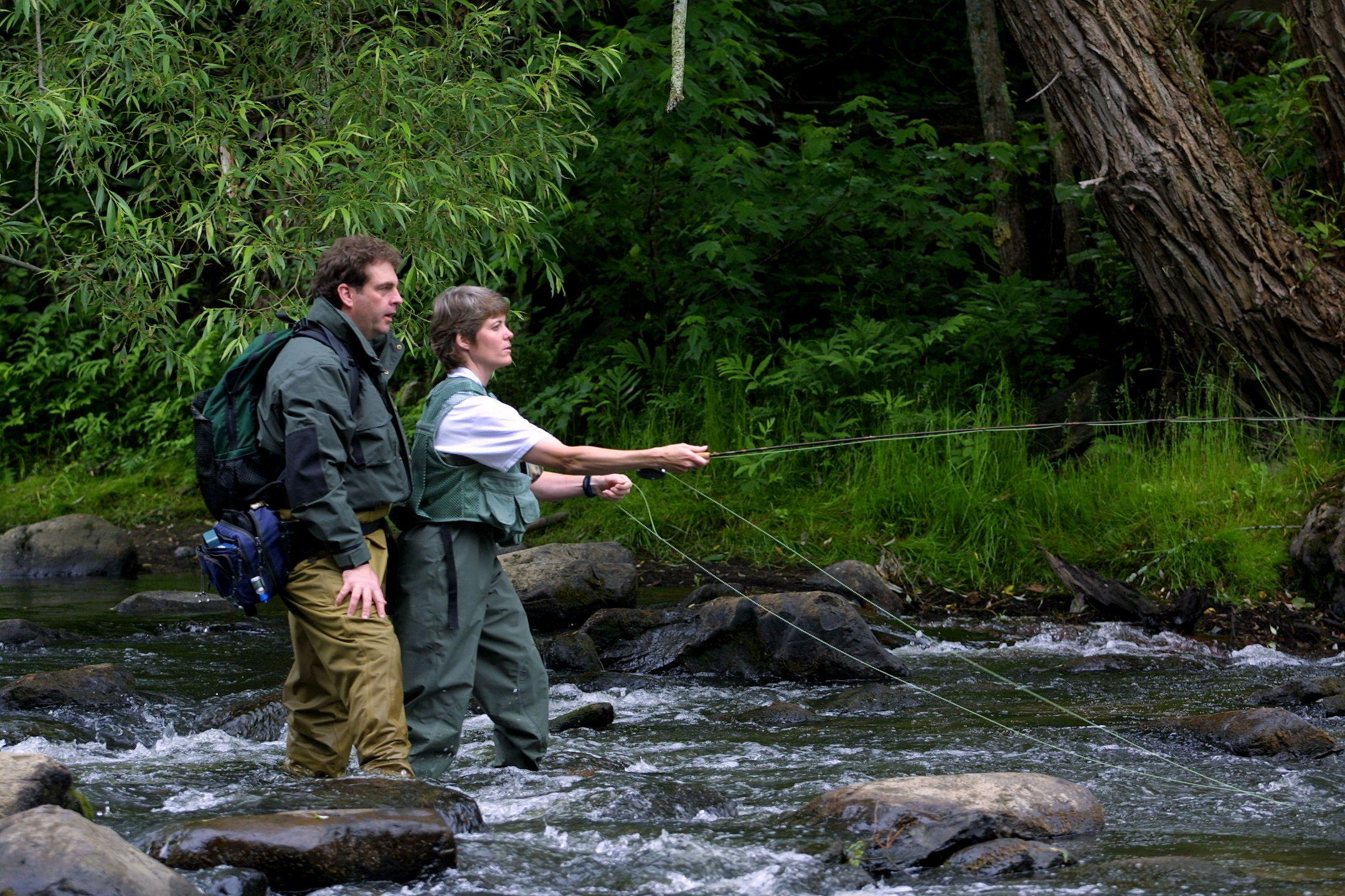 Ban rescinded on felt soled waders wamc for Vermont fish and wildlife