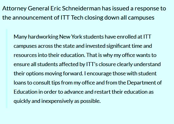 ITT Technical Institute faces more lawsuits over shutdown