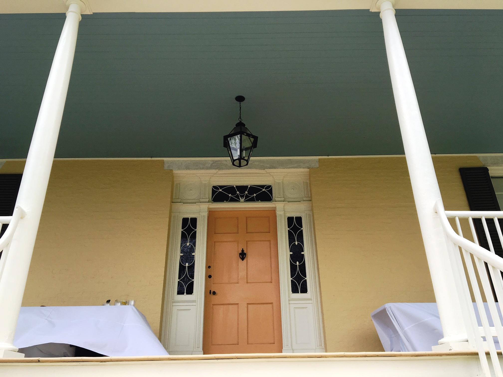 The Front Door To The Main House.