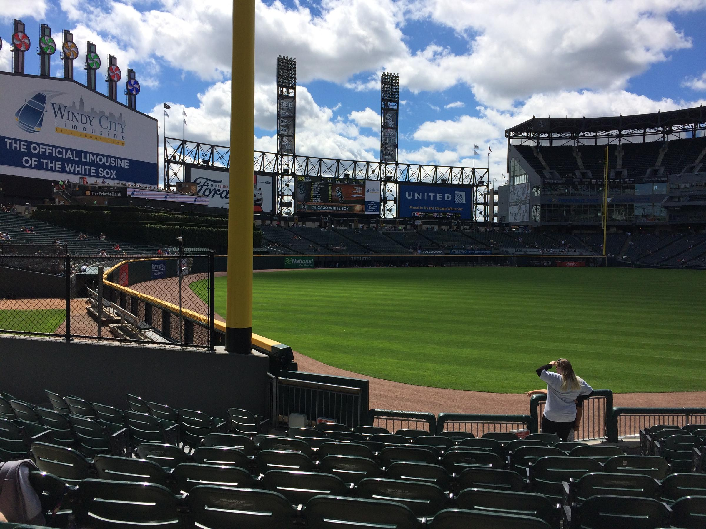 Guaranteed Rate Field home of the White Sox one of only two teams with three perfect games