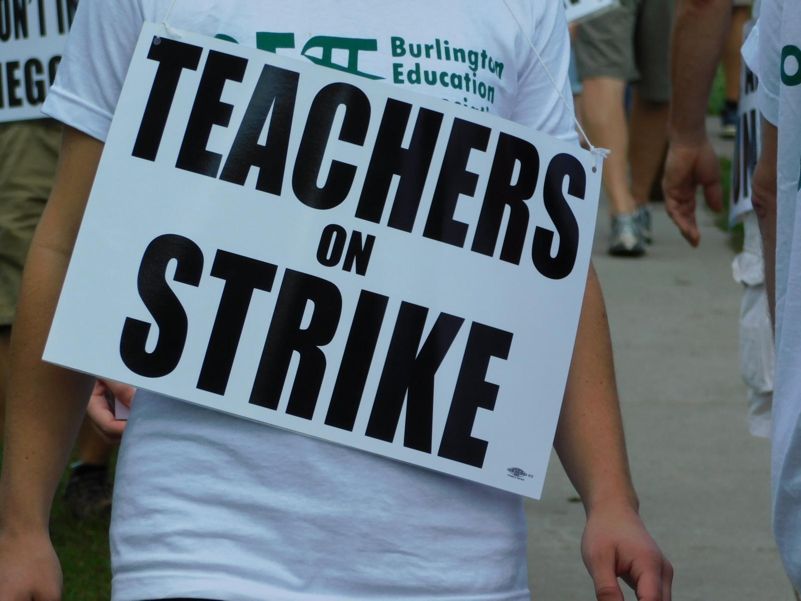Tentative Contract Deal Ends Burlington Teachers' Strike