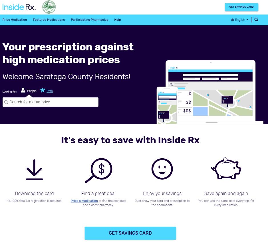 saratoga county providing discount prescription drug program - Best Prescription Discount Card
