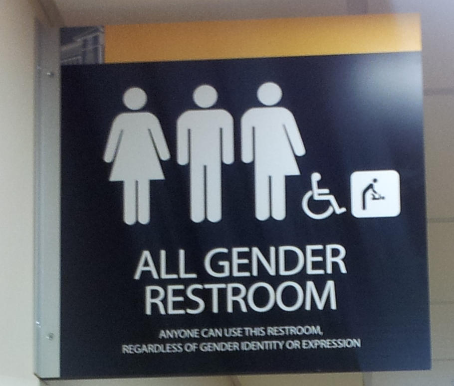 gender neutral sign - All Gender Bathroom Sign