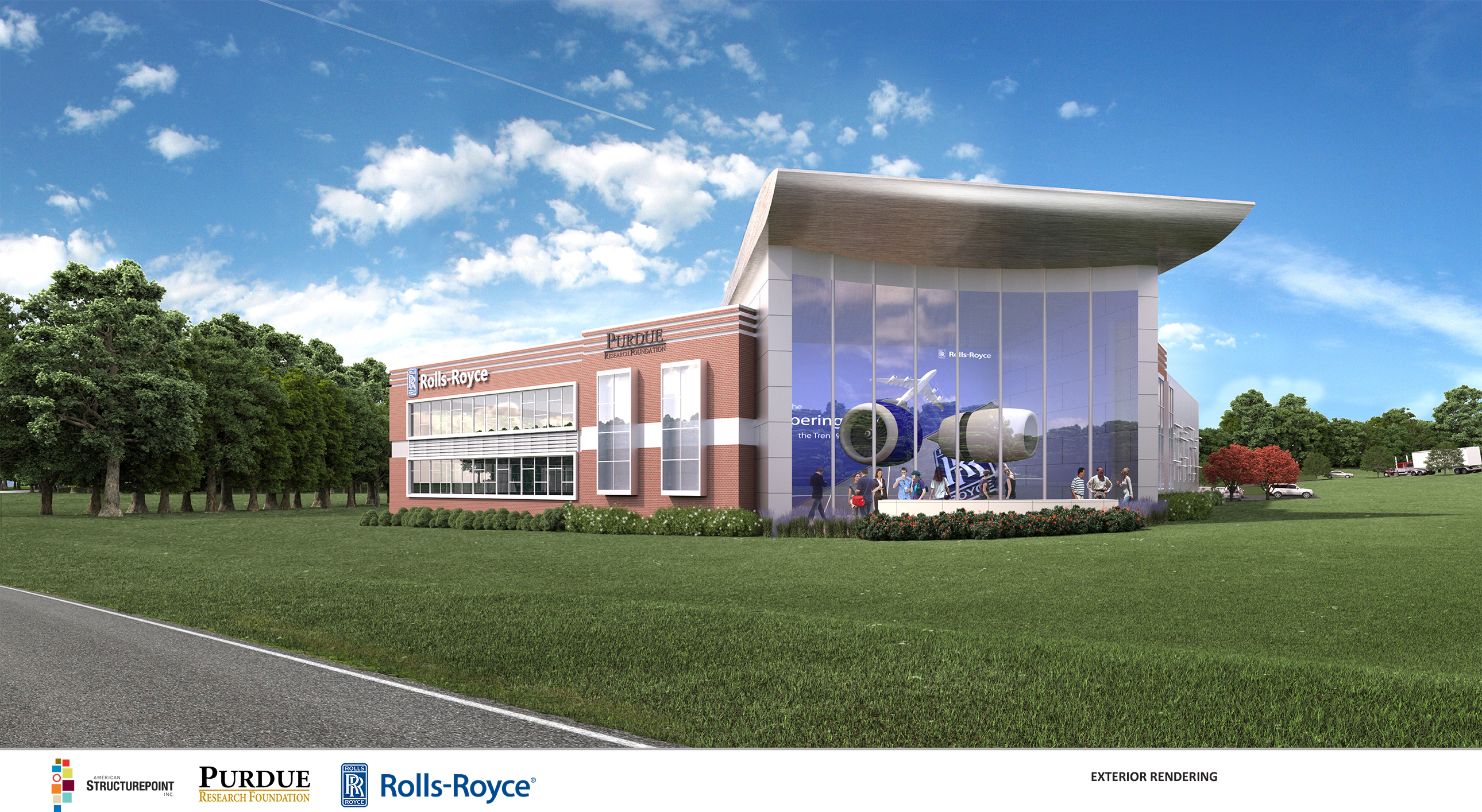 rolls-royce testing facility first tenant at aerospace district of