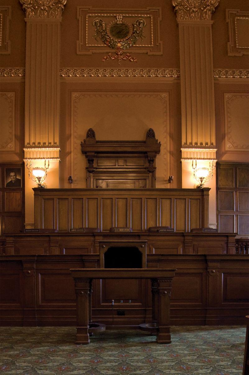 Indiana Supreme Court chambers