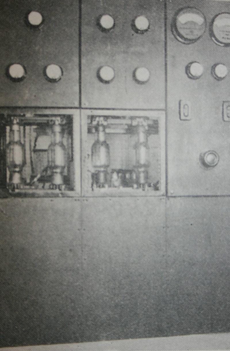 WBAA transmitter panel in 1926
