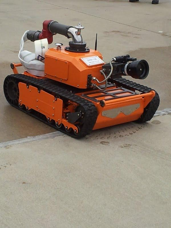 DRB's fire fighting robot