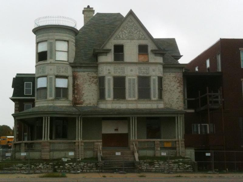 The original Queen Anne style home is more than 145 years old. To demolish a historic structure, the city must wait 60 days.