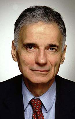 Ralph Nader wants candidates for federal office to address the need to increase the minimum wage.