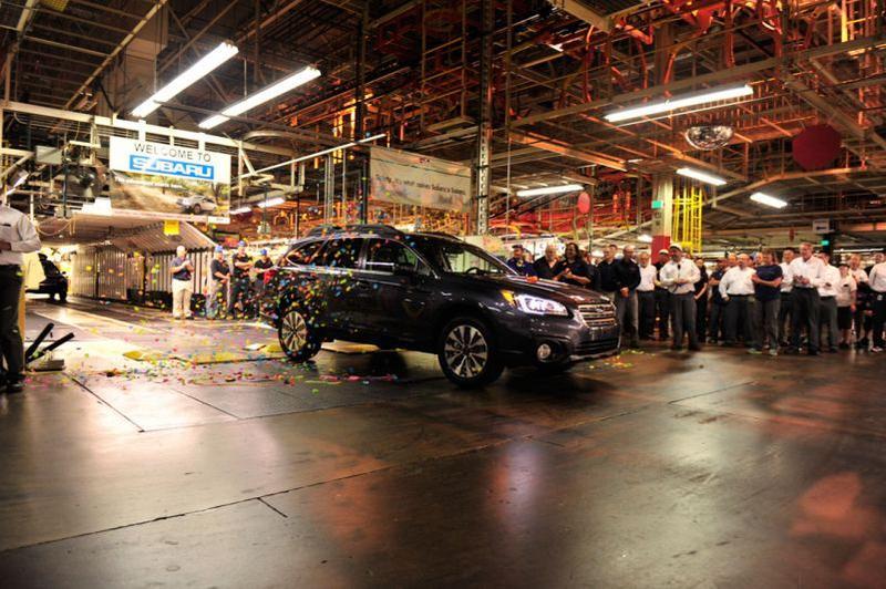 Subaru Cuts Indiana Production During Legacy, Outback Recall | WBAA