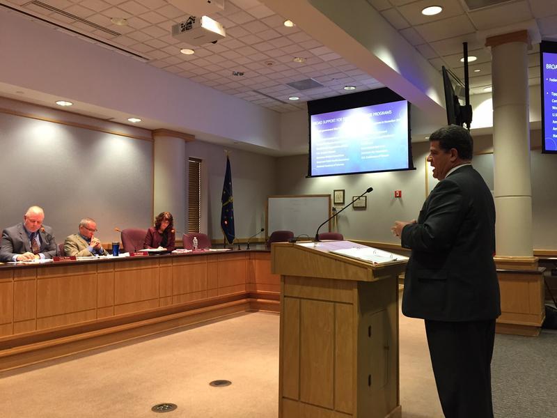 Lafayette Mayor Tony Roswarski urges the Tippecanoe County Commissioners to obtain more information before establishing syringe services program.