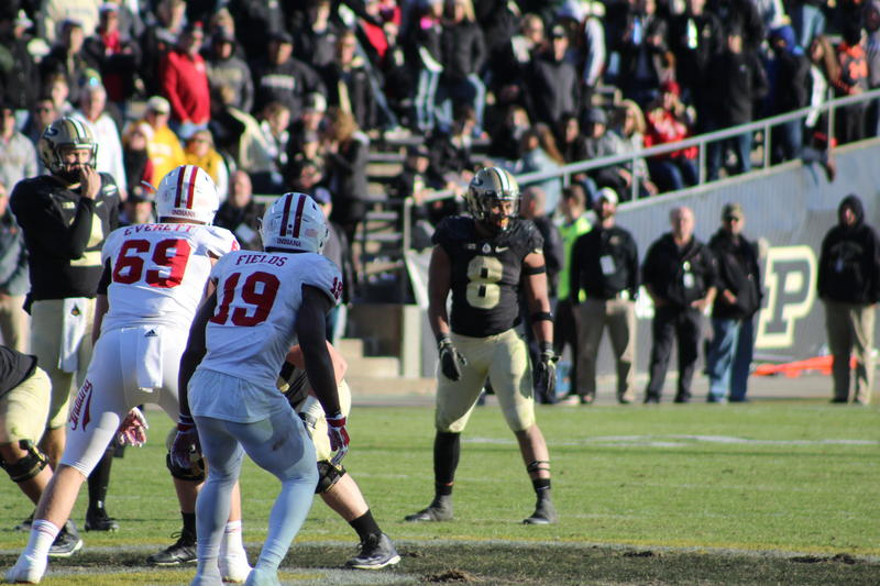 Purdue running back Markell Jones ran for 217 yards on 31 carries.