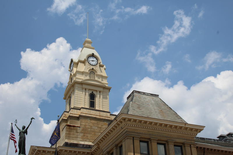 The clock tower was named after local doctor James Marion Kirtley, whose dying wish was that the tower be rebuilt.