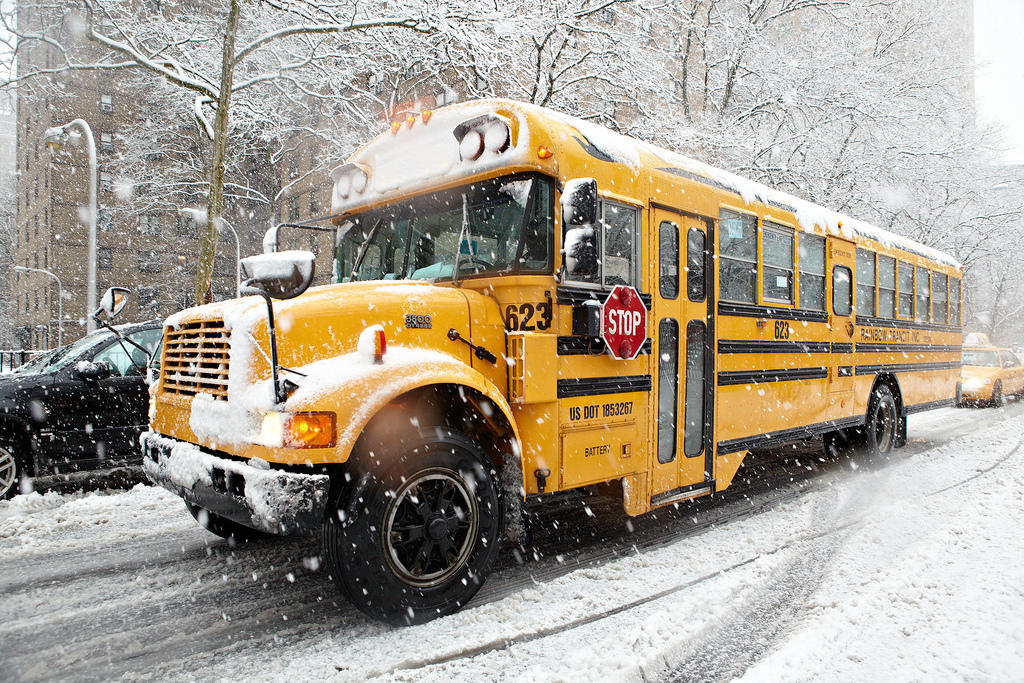 Bus Cancellations: Bitter Cold Prompts 2-Hour Delays At Area Schools