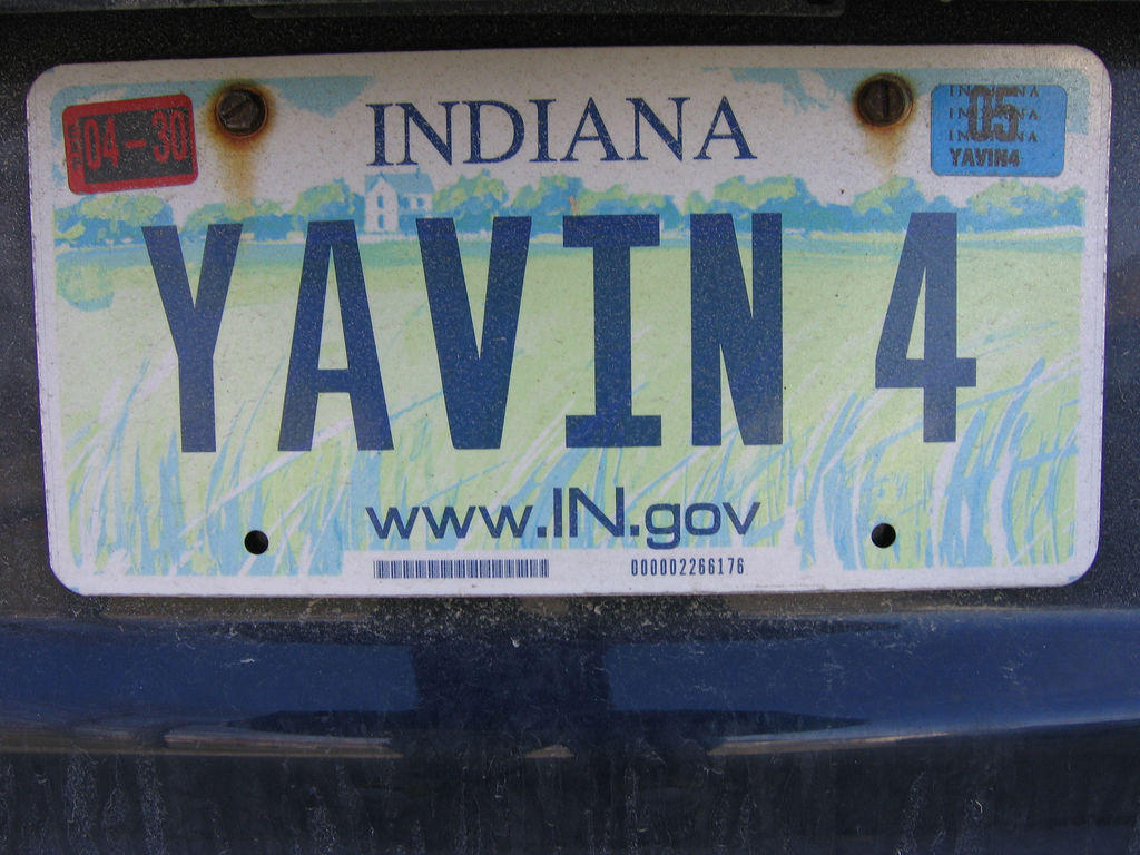 indiana license plates to no longer be made by inmates