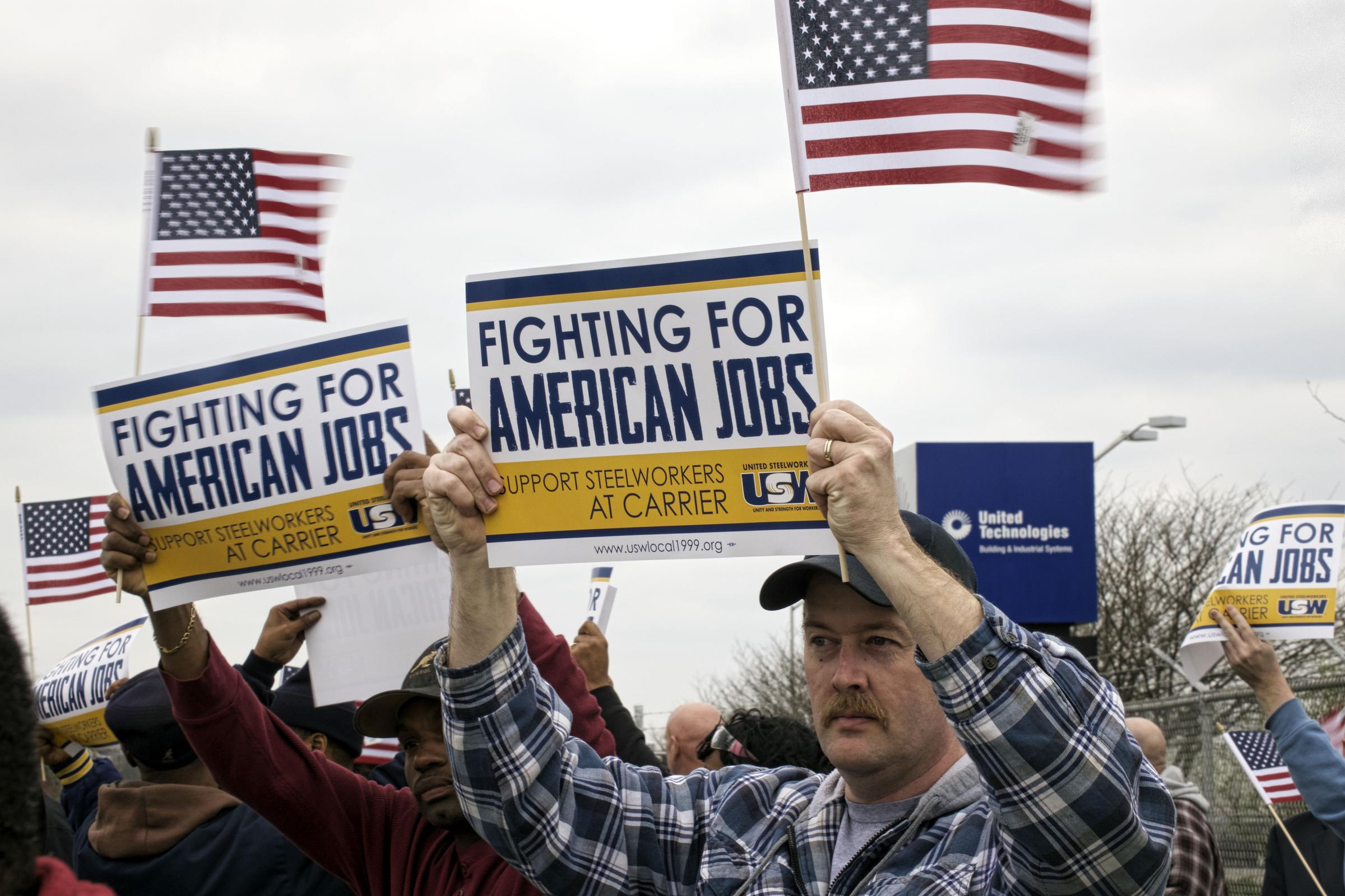 Carrier Layoffs Become 'Get Out The Vote' Tool For Unions ...