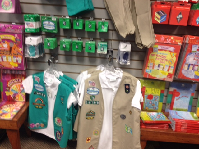 girl scouts providing leadership and more wbfo
