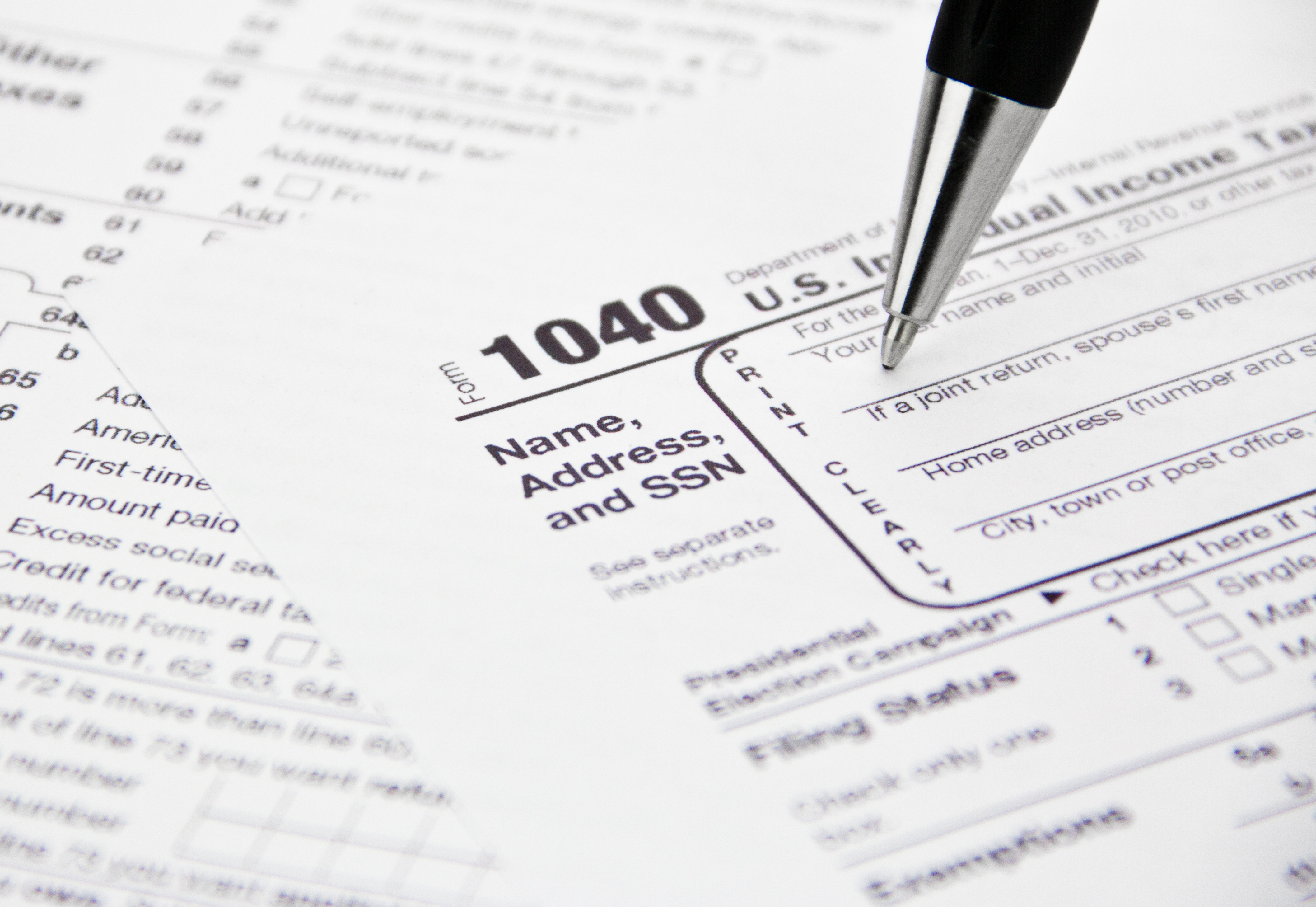 Time is ticking down for income tax return filers | WBFO